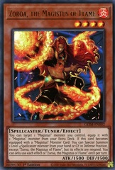 Zoroa, the Magistus of Flame - GEIM-EN002 - Ultra Rare - 1st Edition