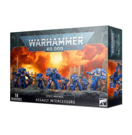 Warhammer 40k Space Marines Assault Intercessors