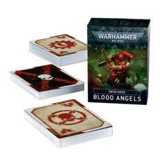 Warhammer 40k Datacards Blood Angels