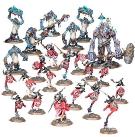 Warhammer AoS Gloomspite Gitz Battleforce Fungal Loonhorde