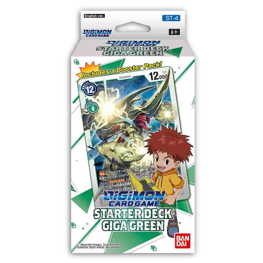 Digimon Card Game: Starter Deck: Giga Green