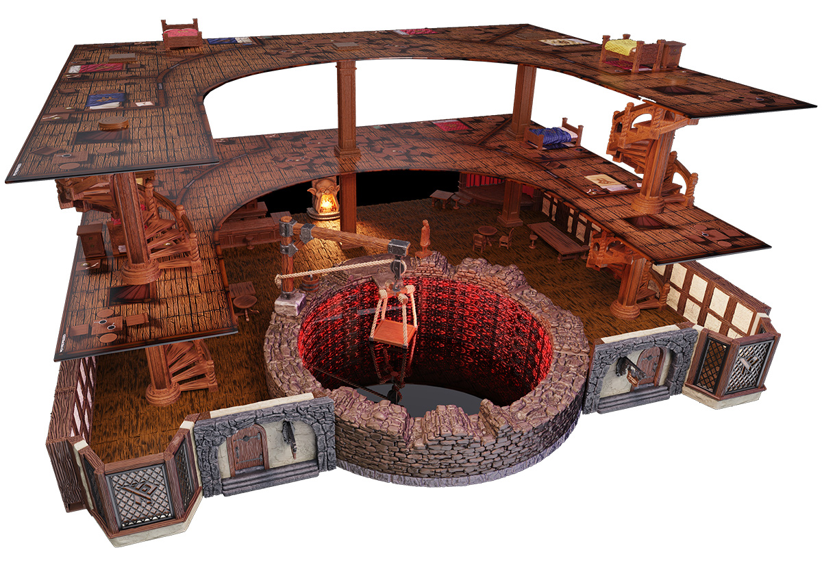 D&D Icons of the Realms: The Yawning Portal Inn