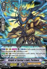 Knight of Spring's Light, Perimore - V-BT12/021EN - RR