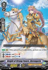 Knight of Strong Favors, Berengaria - V-BT12/036EN - R