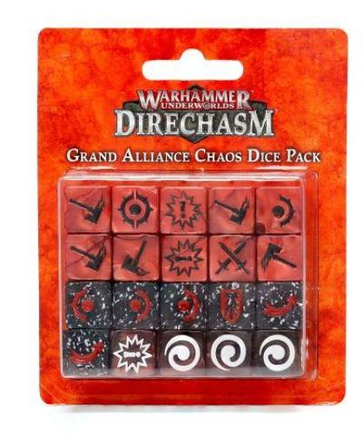 Warhammer Underworlds: Direchasm Grand Alliance Chaos Dice Pack
