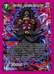 Dark Broly, Unbridled Destruction - EX16-03 - EX - Silver Foil