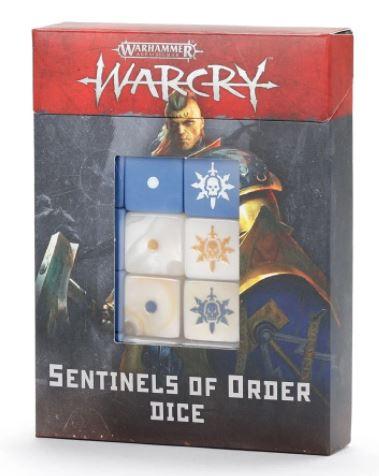 Warcry: Sentinels of Order Dice Set