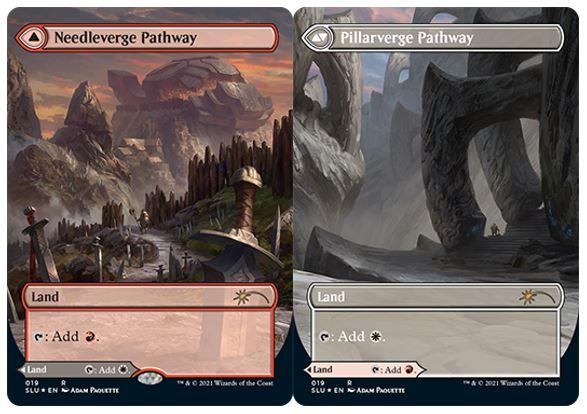 Needleverge Pathway // Pillarverge Pathway - Foil
