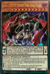 Go! - D/D/D Divine Zero King Rage - YA07-EN001 - Ultra Rare - Limited Edition