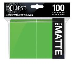 Ultra Pro - Eclipse Pro Matte Standard Sleeves: Lime Green 100ct