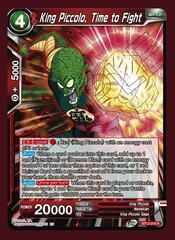 King Piccolo, Time to Fight - BT12-018 - R - Foil