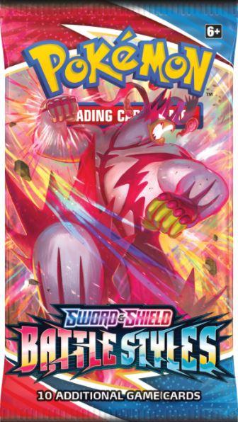 Sword & Shield - Battle Styles Booster Pack