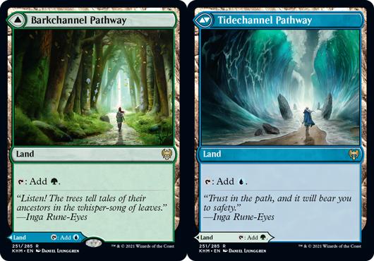 Barkchannel Pathway // Tidechannel Pathway