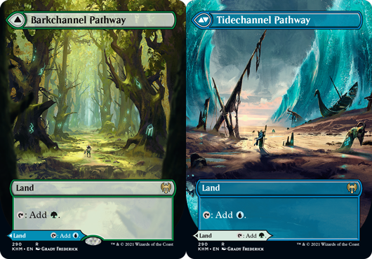 (290) Barkchannel Pathway // Tidechannel Pathway - FOIL - BORDERLESS
