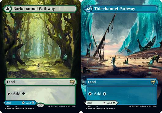Barkchannel Pathway // Tidechannel Pathway - Foil - Borderless