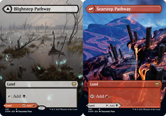 Blightstep Pathway // Searstep Pathway - Borderless