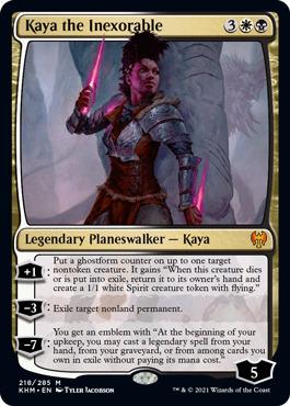 Kaya the Inexorable - Foil