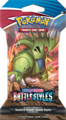 Sword & Shield - Battle Styles Sleeved Booster Pack - Single Strike -  Tyranitar V