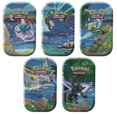 Shining Fates Mini Tins - Complete Set of 5