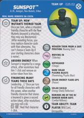 Sunspot - 025.02 - Team-Up Card