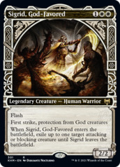 (301) Sigrid, God-Favored - FOIL - SHOWCASE