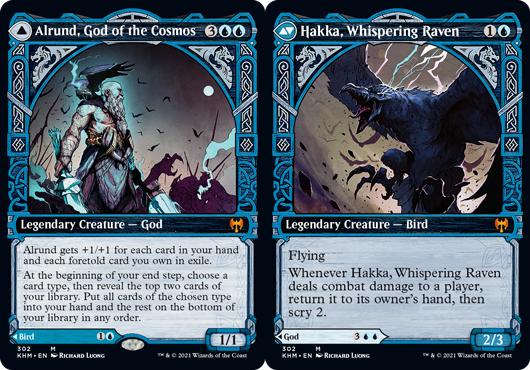 Alrund, God of the Cosmos // Hakka, Whispering Raven - Showcase