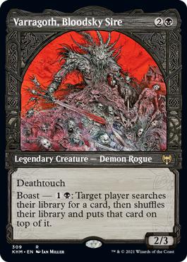 Varragoth, Bloodsky Sire - Foil - Showcase