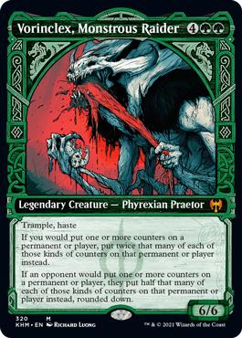 Vorinclex, Monstrous Raider - Foil - Showcase