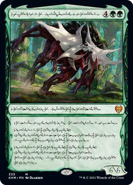 Vorinclex, Monstrous Raider - Phyrexian