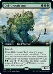 (365) Old-Growth Troll - EXTENDED ART