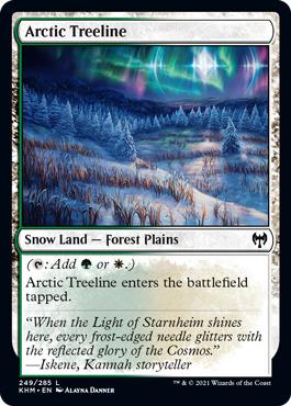 Arctic Treeline - Foil