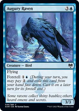 Augury Raven - Foil