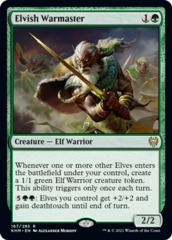 Elvish Warmaster - Foil