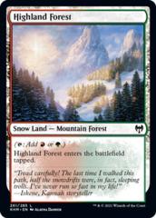 Highland Forest - Foil