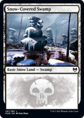 Snow-Covered Swamp (281) - Foil