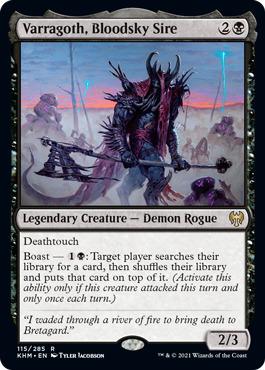 Varragoth, Bloodsky Sire - Foil