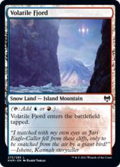 Volatile Fjord - Foil