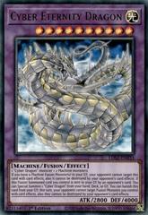 Cyber Eternity Dragon - LDS2-EN033 - Ultra Rare - 1st Edition
