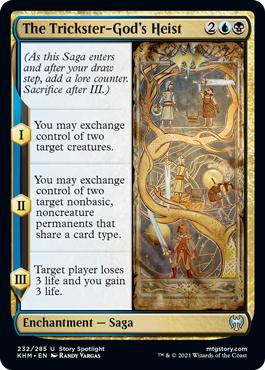 The Trickster-Gods Heist
