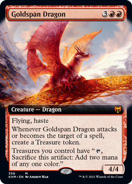 Goldspan Dragon - Extended Art