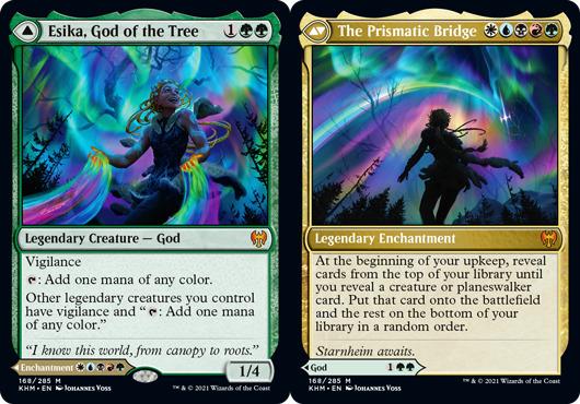 Esika, God of the Tree // The Prismatic Bridge - Foil