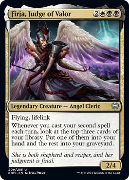 Firja, Judge of Valor - Foil