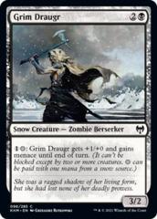 Grim Draugr - Foil