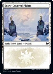 Snow-Covered Plains (276) - Foil