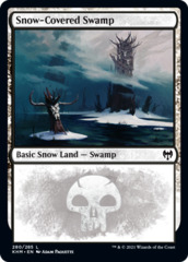 Snow-Covered Swamp (280) - Foil
