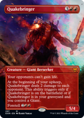 Quakebringer - Foil - Borderless