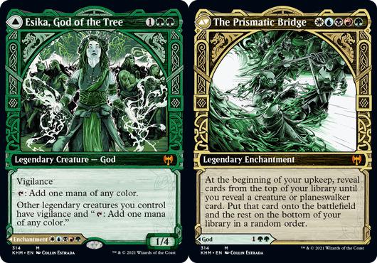 Esika, God of the Tree // The Prismatic Bridge - Foil - Showcase
