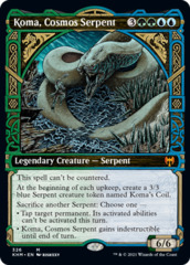 Koma, Cosmos Serpent - Foil - Showcase