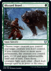 Blizzard Brawl - Foil