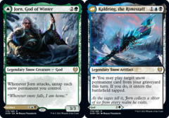 Jorn, God of Winter // Kaldring, the Rimestaff